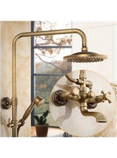 Vintage Antique Brass Shower Heads