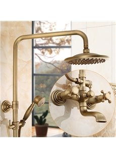 European Style Antique Brass Shower Heads