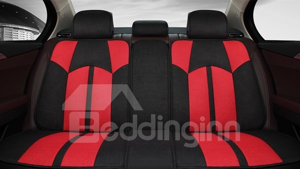 Popular Magic Contrast Color Design Universal Five Car Seat Covers