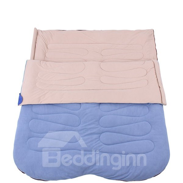 Rectangular Wide Outdoor Camping Hiking Traveling Double Sleeping Bag