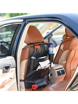 Super High Cost-Effective And Leather Material Backseat Organizer