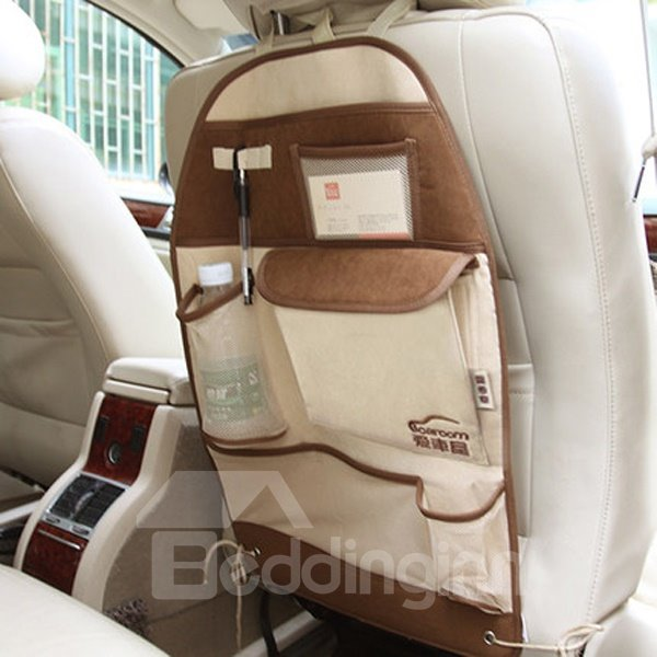 Simple Practical Style And Environment PVC Material Backseat Organizer