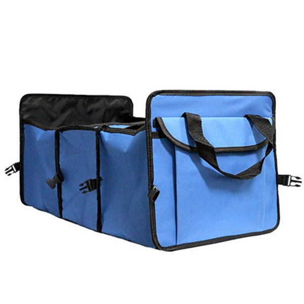 Foldable Heavy Duty Trunk Organizer With Insulation Bags