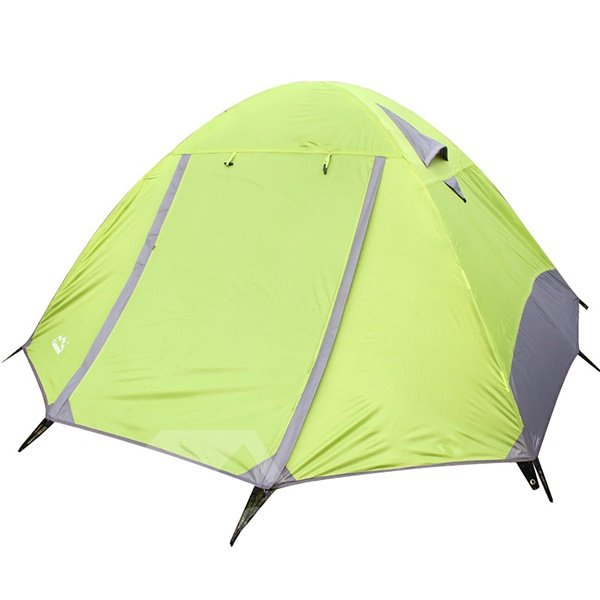 2 Person One Bedroom Fiberglass Outdoor Camping Hiking Dome Tent