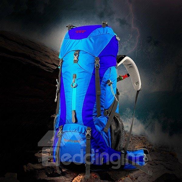 65 L High Capacity Waterproof Resistant Camping Hiking Traveling Backpack