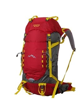 45L Red High Capacity Outdoor Camping Hiking Trekking Traveling Backpack