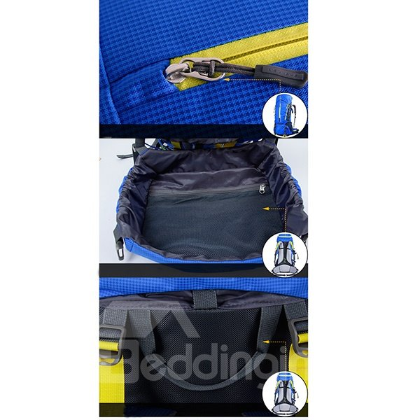 60 L Comfort Adjustable High Capacity Camping Hiking Traveling Backpack