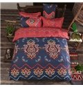 Popular Exotic Pattern Polyester 4-Piece Duvet Cover Sets