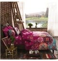 Fancy Bohemian Style Polyester 4-Piece Duvet Cover Sets