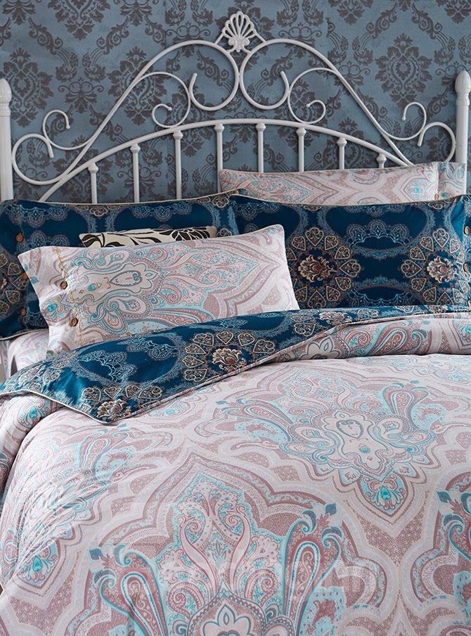 Amazing American Style 4-Piece Cotton Duvet Cover Sets