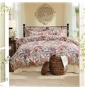 Popular Magnificent Flowers Reactive Printing 4-Piece Cotton Duvet Cover Sets