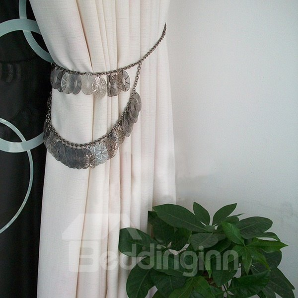 Classical Iron Chain Decorative Curtain Tiebacks