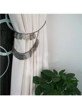 Classical Iron Chain Decorative Curtain Tiebacks