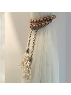 Classical Golden Beads Fashion Curtain Tiebacks