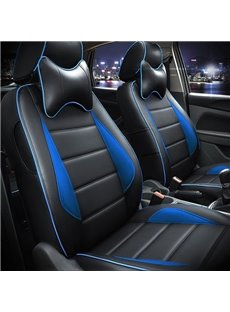 Popular PU Leather Material And Sport Style Universal Car Seat Cover