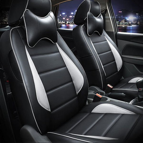 Popular PU Leather Material And Sport Style Dedicated Car Seat Cover