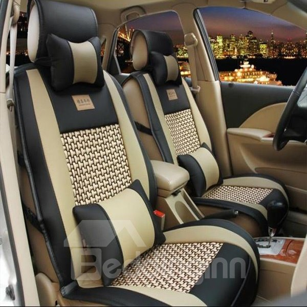 Eco-Friendly Bamboo Fiber Material And Cost-Effective Universal Car Seat Cover