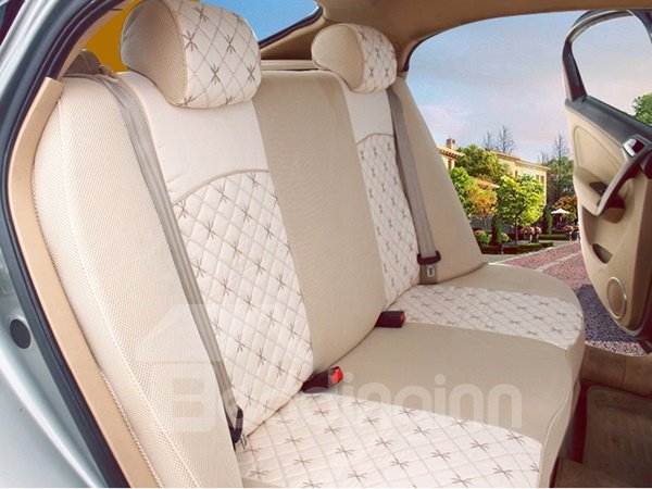 Super High Cost-Effective Silk Embroidered Univerdal Car Seat Cover