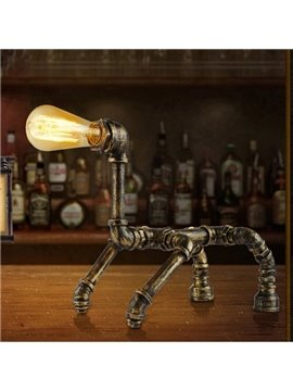 Very Cute Classic Water Pipe Table Lamp
