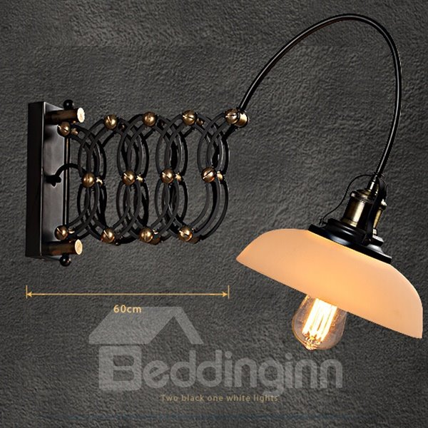 Fantastic Industrial Creative Spring Shape Wall Light