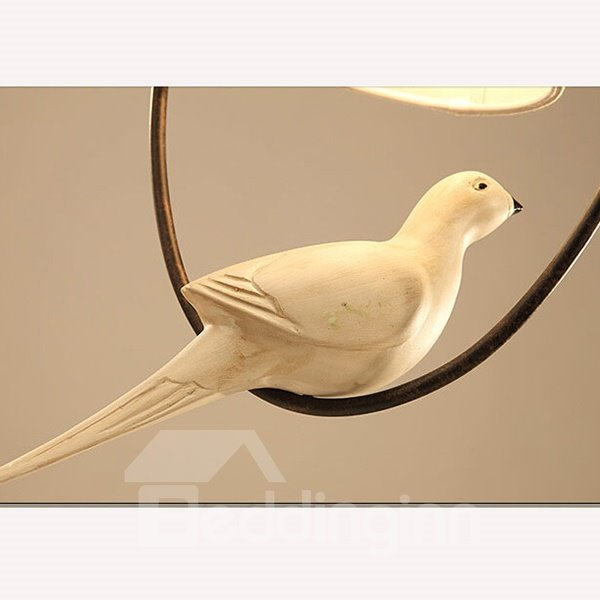 Northern Europe Countryside Style Bird Ceiling Light
