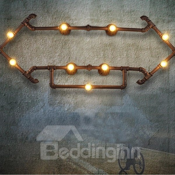 Attractive Modern Design Iron Arrows Shape Wall Light