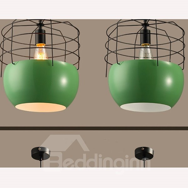 Modern Fashion Iron Net Shape Coffee and Bar Ceiling Light