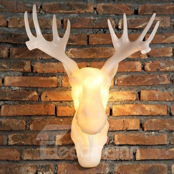 Creative European Style Antler Decorative Wall Light