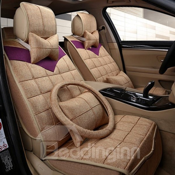 Super Comfortable And Tessellated Style Universal Car Seat Cover