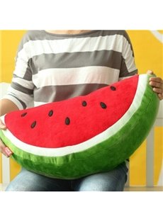 Funny Decorative Watermelon Throw Pillow