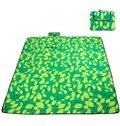 Colorful Grid Beach Outdoor Camping Traveling Picnic Foldable Ground Mat
