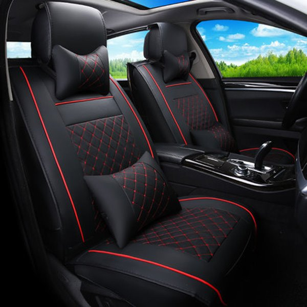 Comfortable Leather Material And Cool Design Universal Car