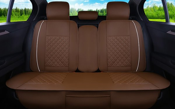 Comfortable Leather Material And Cool Design Universal Car Seat Cover