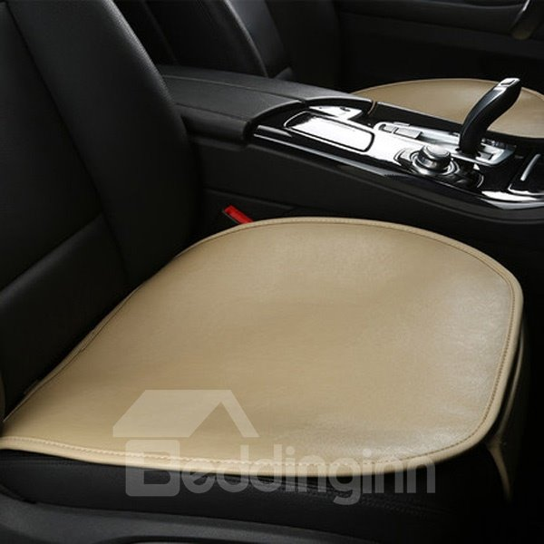Leather Material Classic Design Luxurious Universal Car Seat Mat