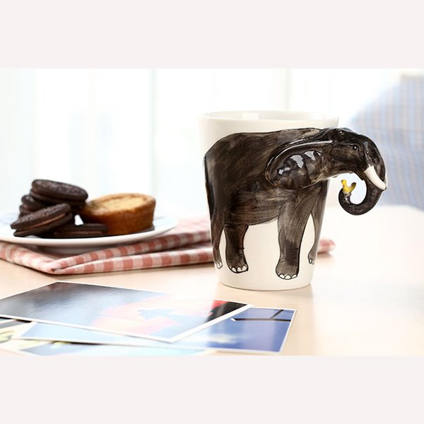 New Arrival Cute Monkey Ceramic Coffee Cup