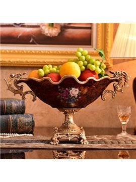 New Arrival European Court Style Fruit Plate Desktop Decoration