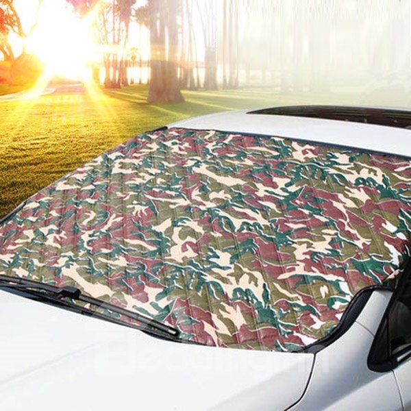 Army Green Pattern Design Fashional Universal Car Sun Shades
