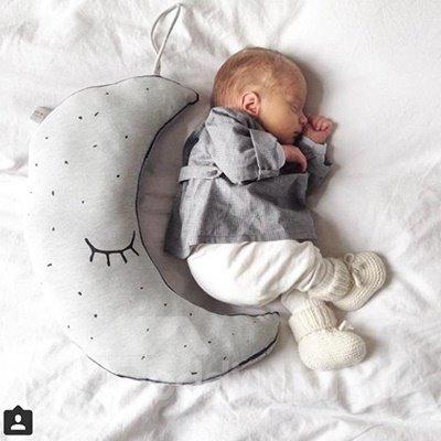 Super Cute Luminous Moon Star PP Cotton Throw Pillow