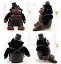 Best Selling Smart Muscle Gorilla PP Cotton Plush Toy