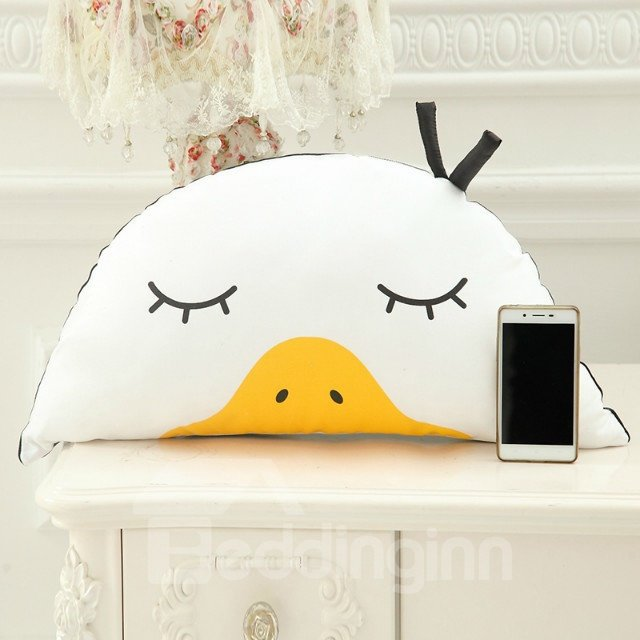 New Arrival Funny Duck PP Cotton Throw Pillow
