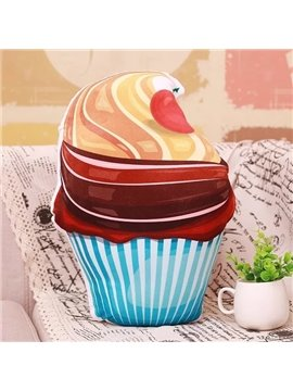 Must-Have Ice Cream PP Cotton Throw Pillow