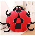 Lovely Bright Color Beetle PP Cotton Throw Pillow