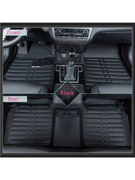 Durable And Waterproof Dust-Proof PU Leather Material Dedicated Car Carpet