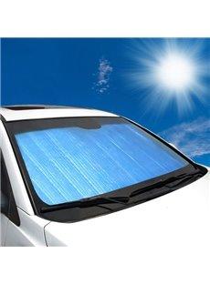 Light Blue Double Laye Sun Block Car Sun Shades