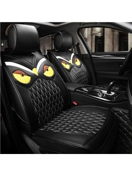 Lifelike Ferocious Eagle Pattern PU Leather Universal Five Car Seat Cover