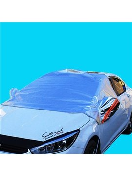 With Aluminum Hook And Popular Blue Car Sun Shades