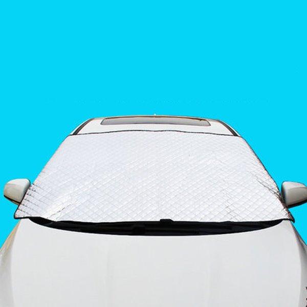 Thicken Double Laye Sun Block Front Car Sun Shades