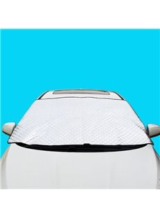 Thicken Double Laye Sun Block Front Car Sun Shades