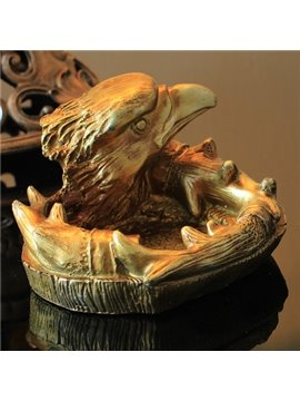 Very Popular Vintage Mid-Century Golden Eagle Design Ashtray