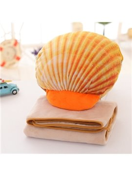 Multi-Functional and Detachable Shell Air Conditioning Blanket Nap Pillow